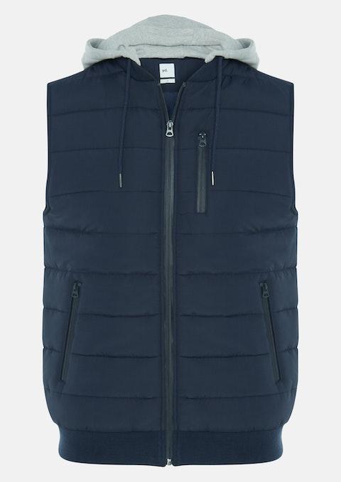 Blue Zac Puffer Vest