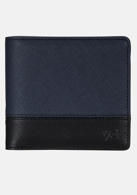 Black/navy Lewis Wallet