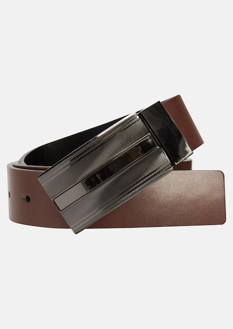 Tan Brown Scott Reversible Belt
