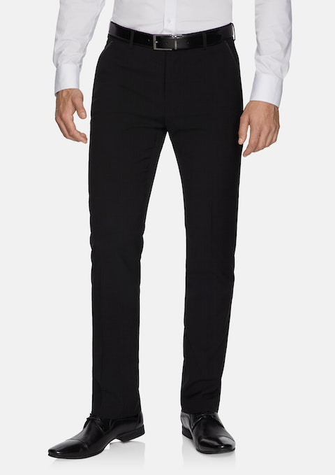 Black Aston Slim Dress Pants