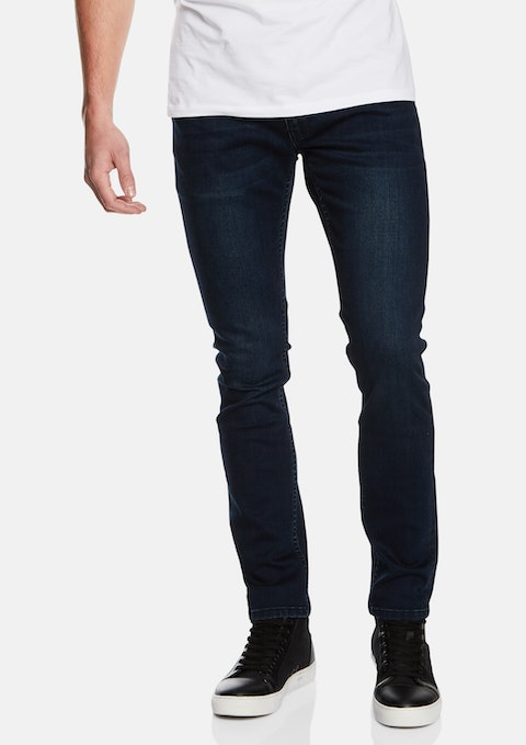 Blue Moscow Skinny Jeans