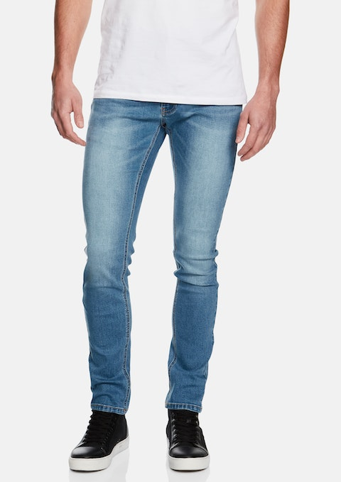 Light Blue Pasadena Skinny Jeans