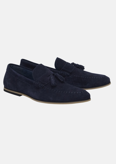 Dark Blue Marky Loafer