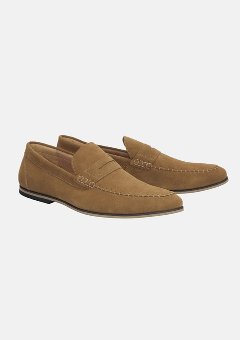 Tan Foxten Loafer