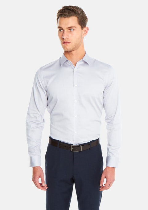 Silver Javier Dress Shirt