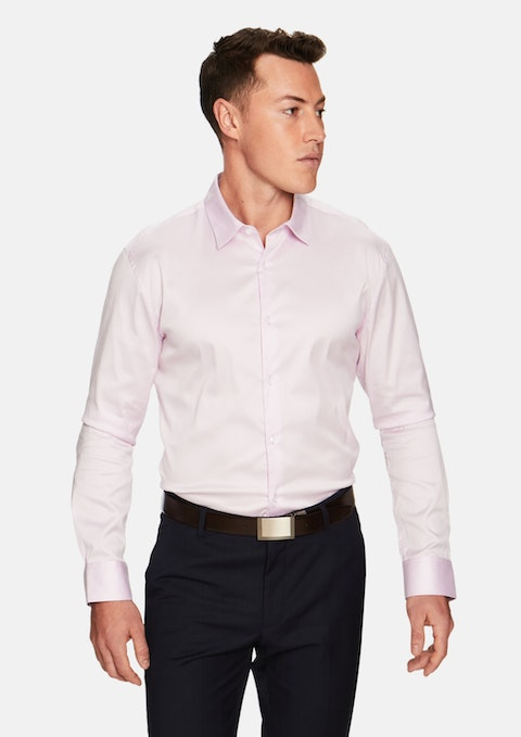 Pink Axton Slim Dress Shirt