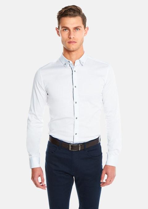White Hendrick Muscle Shirt