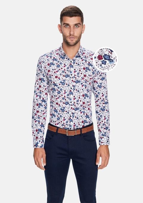 Multi Eden Floral Slim Shirt