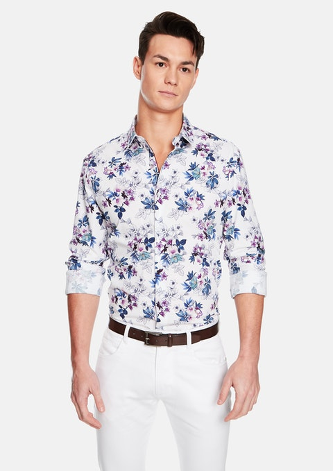 Multi Floripa Floral Slim Fit Shirt