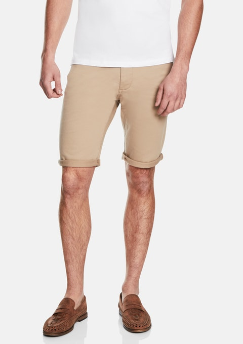 Tan Herston Shorts