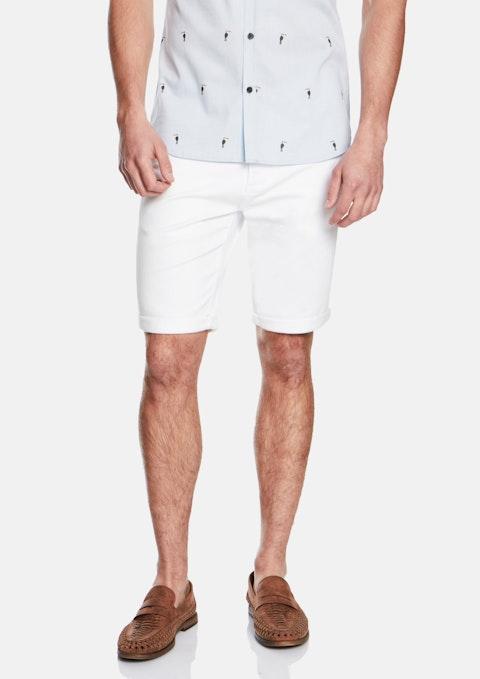 White Herston Short