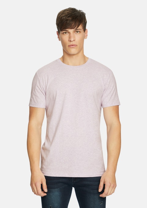Lilac Relaxed Basic Tee