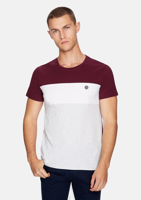 Burgundy Barren Tee