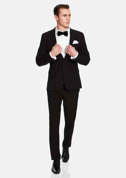 Black Aston Slim Suit