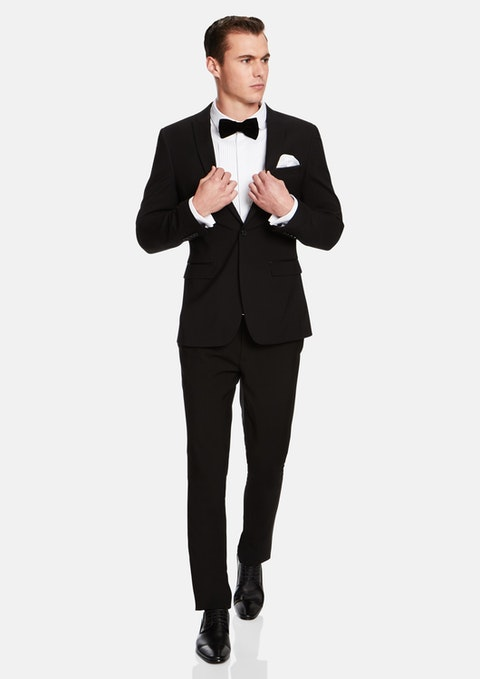 Black Aston Slim Fit Suit