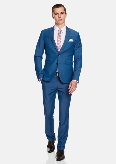 Royal Blue Martin Skinny Suit