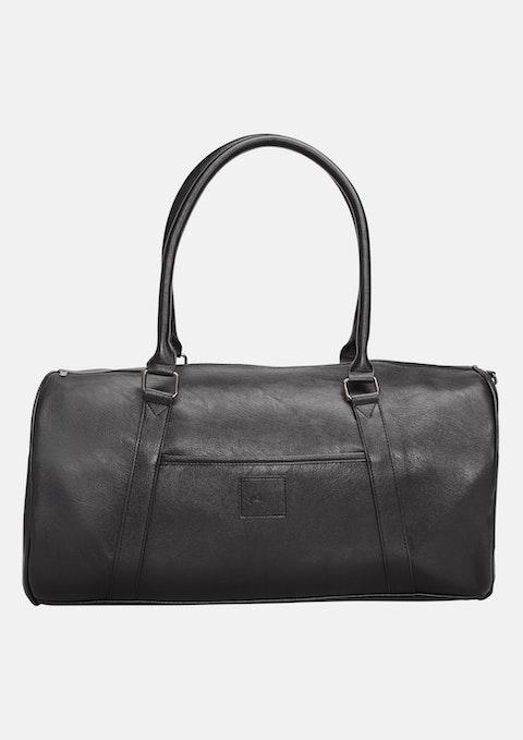 bf39280a4cb8 Black Overnight Travel Bag by yd.