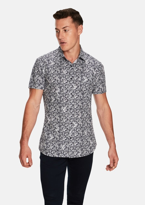 Navy Sparrow Ss Shirt