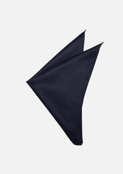Navy Matte Satin Pocket Square
