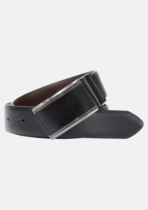 Black Willie Reversible Belt