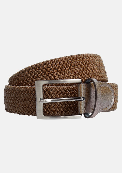 Brown Cooper Stretch Belt
