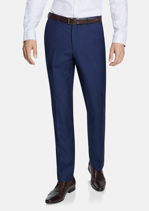 Oxford Navy Wraith Slim Dress Pants