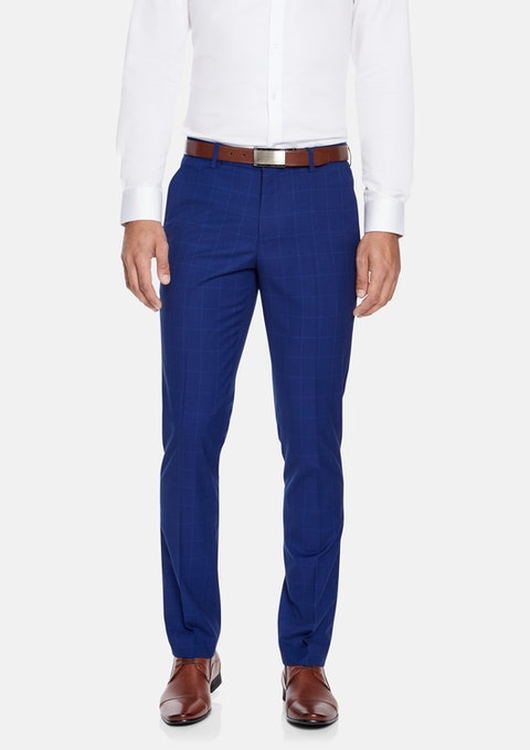 Blue Marshall Skinny Dress Pant