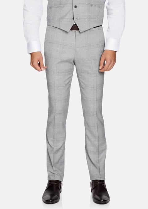 Grey Winston Skinny Check Pant