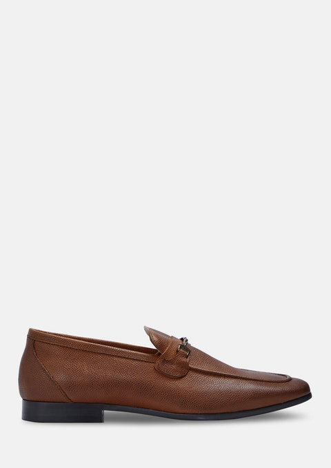 Tan Brown Beckford Loafers