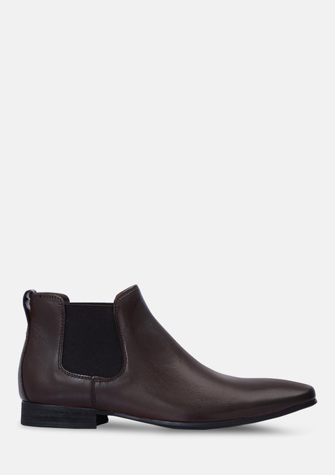 Chocolate Champ Chelsea Boots