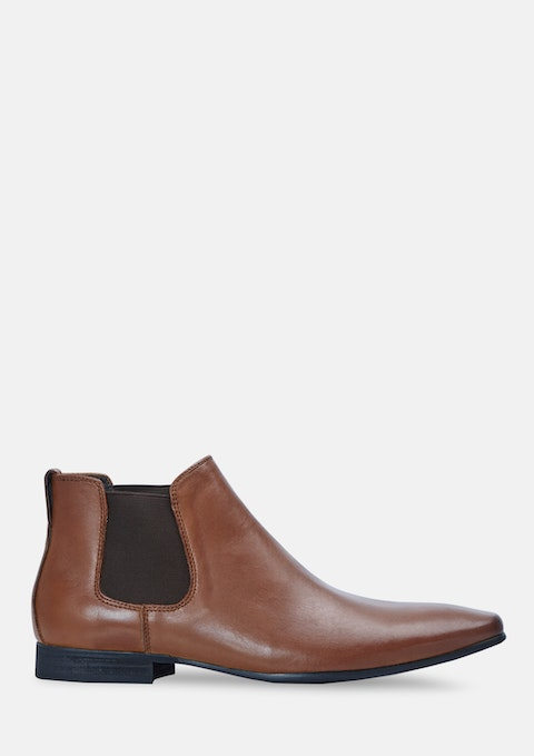 Whiskey Champ Chelsea Boots