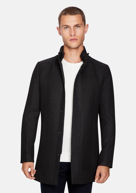 Charcoal Austin Dress Jacket