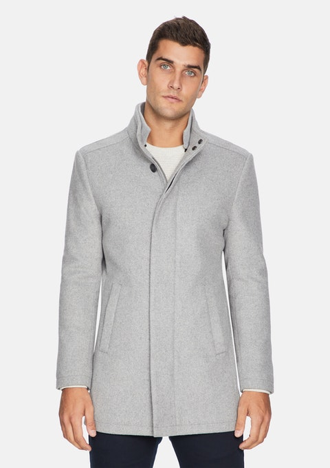 Sliver Grey Tyson Melton Jacket