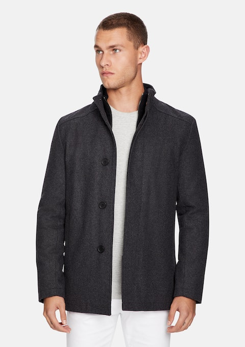 Charcoal Frazier Jacket