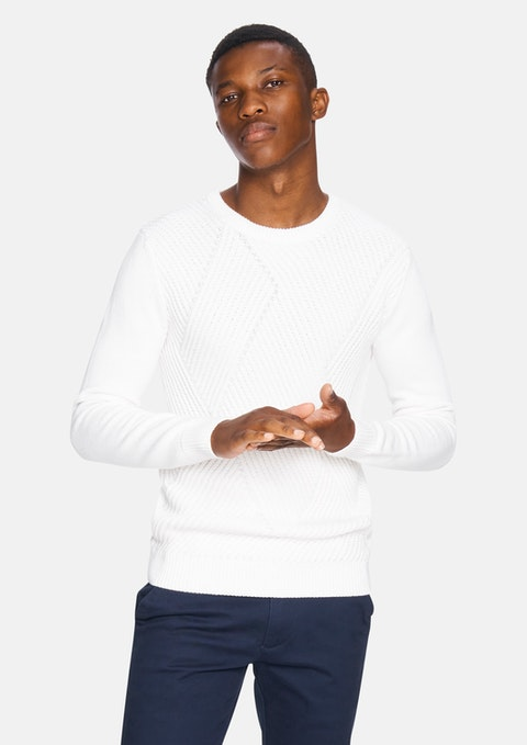 Winter White Dylan Knit