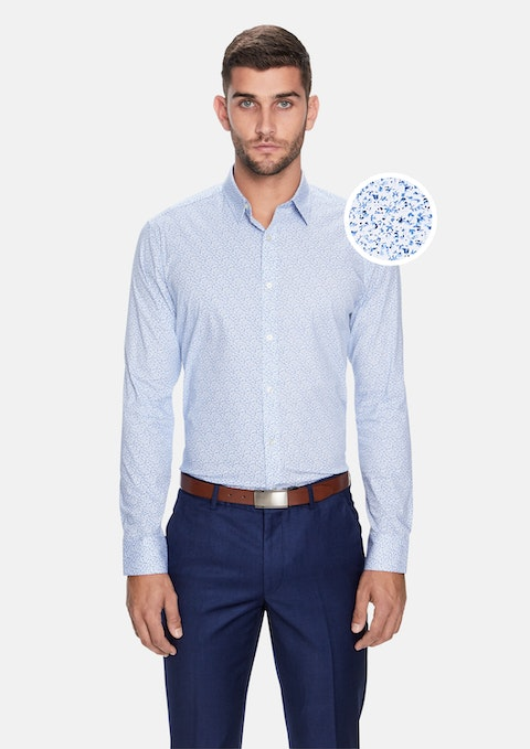Blue Penn Slim Fit Dress Shirt