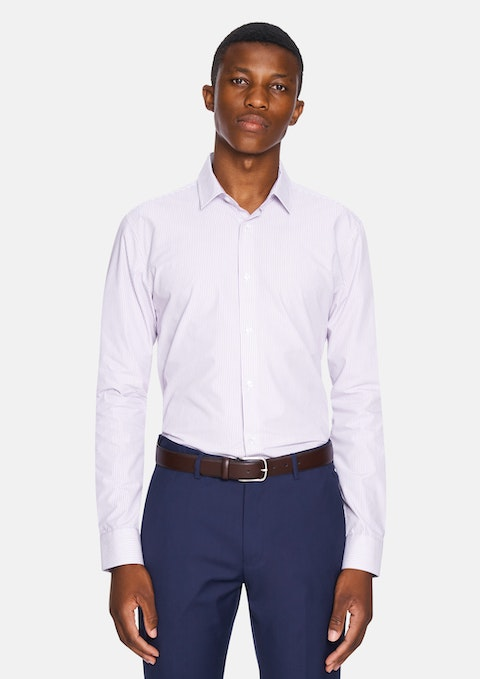 Grape Buster Slim Dress Shirt