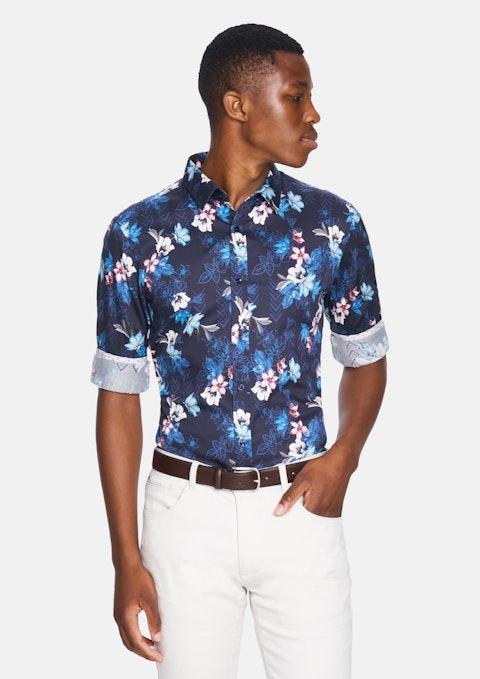 Navy Raphael Shirt