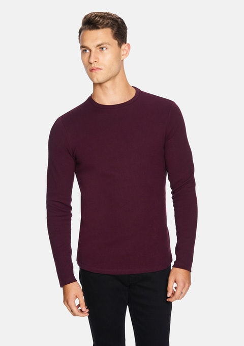 Burgundy Arnold Muscle Top