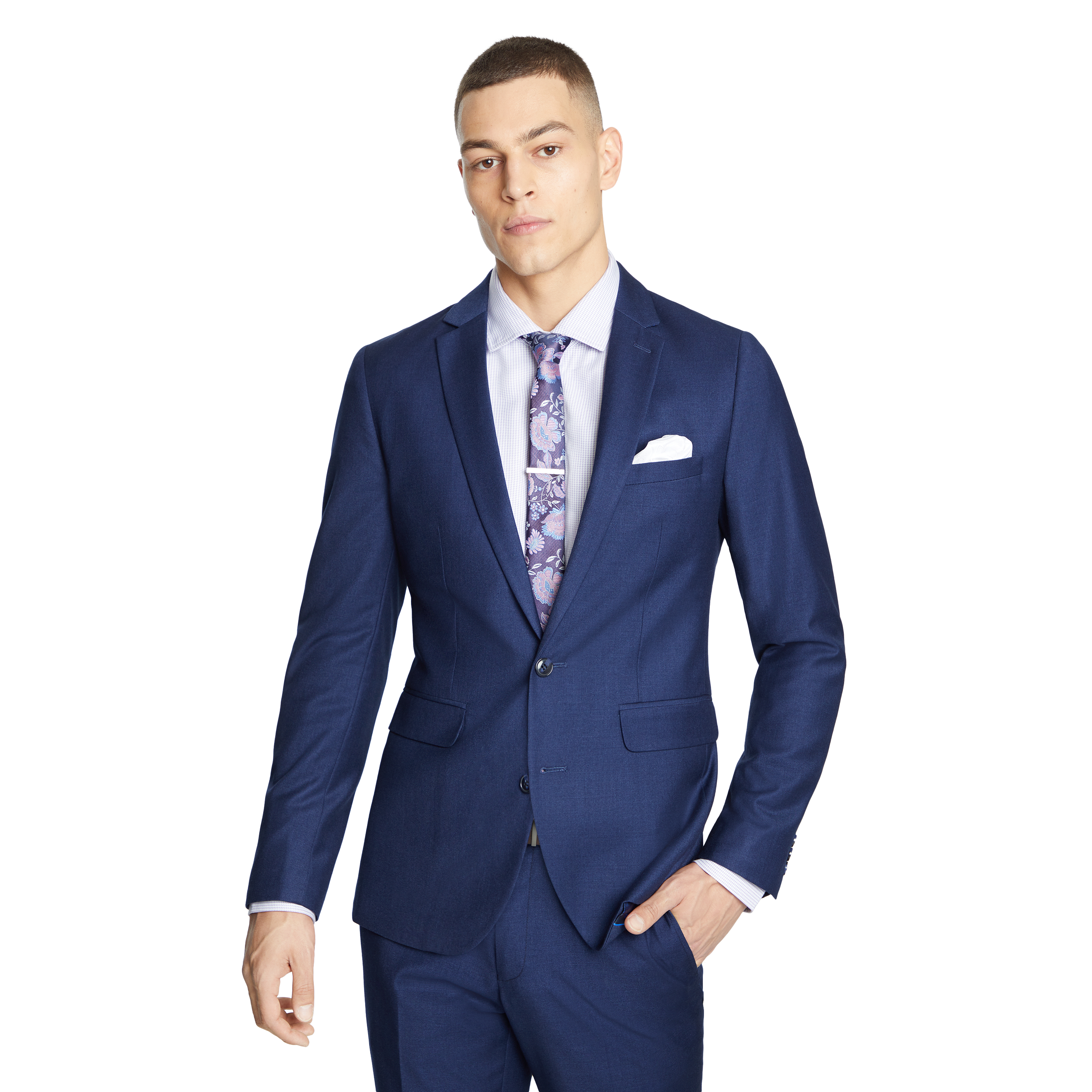 1f6645b2 Oxford Navy Wraith Slim Suit Jacket by yd. | Shop our Men's Apparel