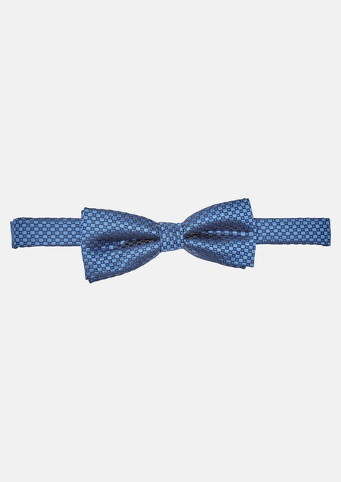 Cobalt Diamond Design Bowtie