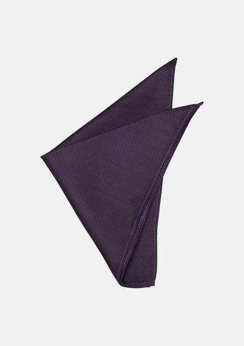 Lilac Terry Texture Pocket Square