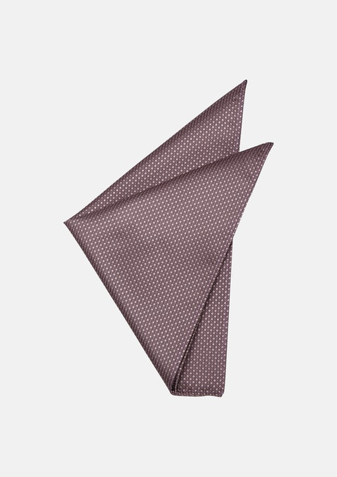 Salmon Class Texture Pocket Square