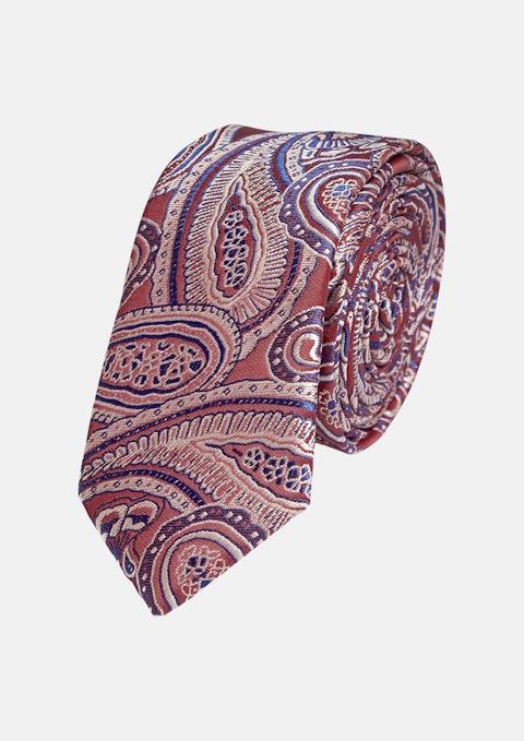 Red Manuel 5cm Tie