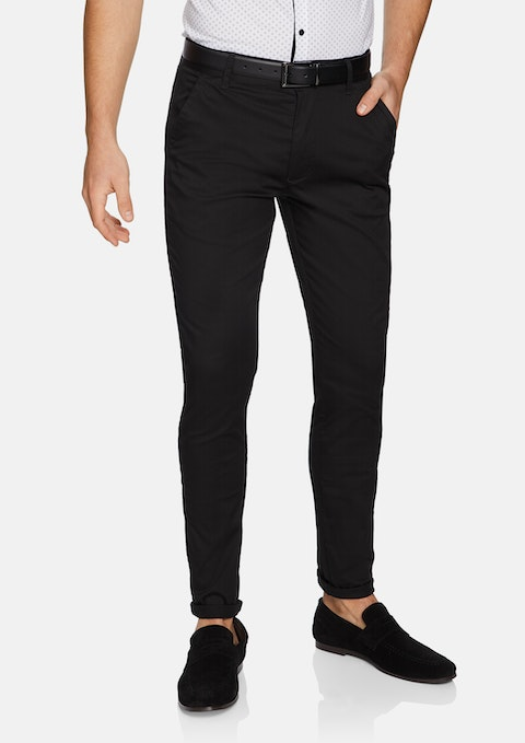 Black Texas Skinny Chino