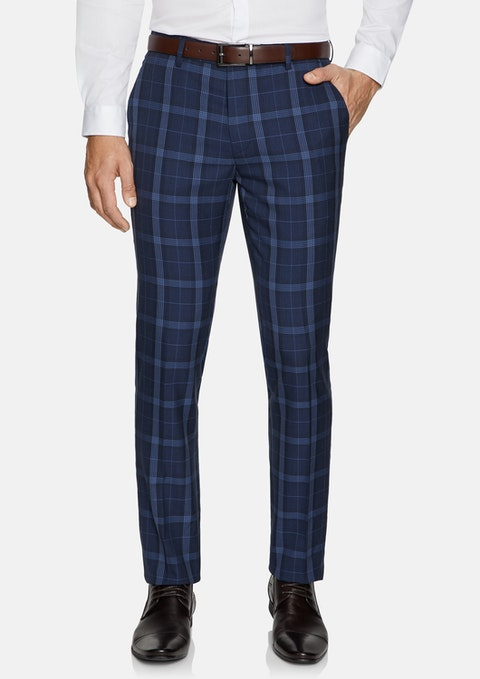 Blue Taylor Skinny Dress Pant