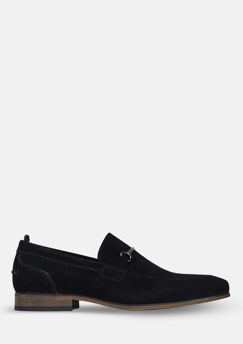 Black Viggo Loafers
