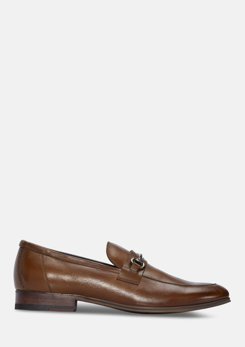 Tan Zeke Leather Loafer