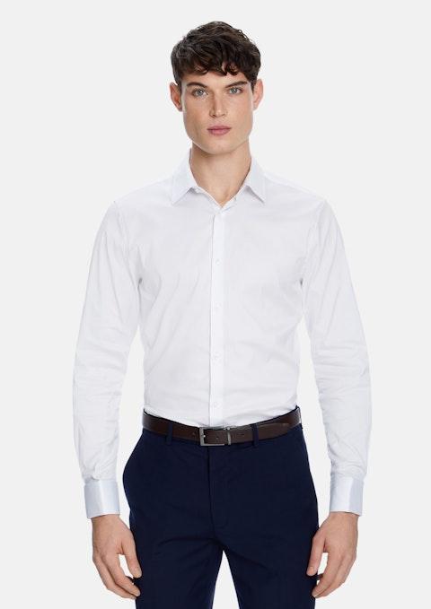 White Eli French Cuff Dress Shirt