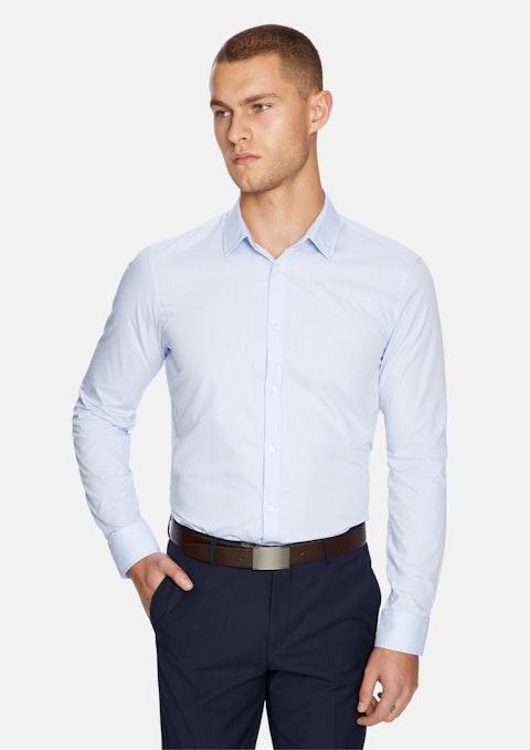 Light Blue Largo Slim Fit Dress Shirt